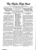 1938 January Newsletter Alpha Phi (University of Michigan)