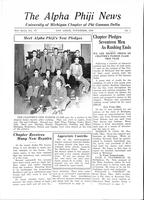 1938 November Newsletter Alpha Phi (University of Michigan)