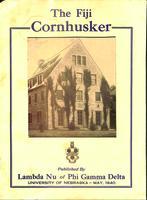1940 May Newsletter Lambda Nu (University of Nebraska)
