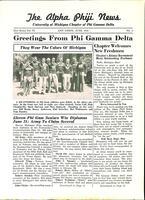 1941 June Newsletter Alpha Phi (University of Michigan)