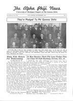 1941 November Newsletter Alpha Phi (University of Michigan)