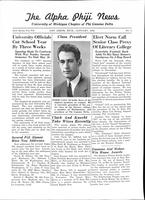 1942 January Newsletter Alpha Phi (University of Michigan)