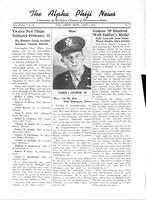 1943 April Newsletter Alpha Phi (University of Michigan)