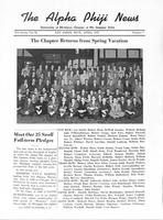 1947 April Newsletter Alpha Phi (University of Michigan)
