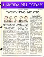 1948 April Newsletter Lambda Nu (University of Nebraska)