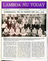 1948 October Newsletter Lambda Nu (University of Nebraska)