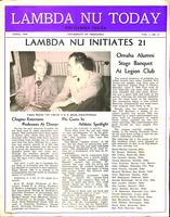 1949 April Newsletter Lambda Nu (University of Nebraska)