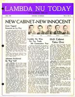 1949 June Newsletter Lambda Nu (University of Nebraska)