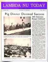 1949 March Newsletter Lambda Nu (University of Nebraska)
