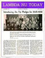 1949 November Newsletter Lambda Nu (University of Nebraska)