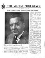 1950 November Newsletter Alpha Phi (University of Michigan)