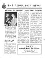 1951 March Newsletter Alpha Phi (University of Michigan)