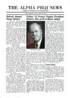 1952 March Newsletter Alpha Phi (University of Michigan)