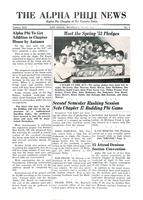 1953 June Newsletter Alpha Phi (University of Michigan)