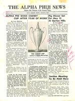 1954 March Newsletter Alpha Phi (University of Michigan)