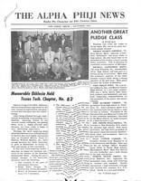 1954 October Newsletter Alpha Phi (University of Michigan)