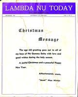 1950 December Newsletter Lambda Nu (University of Nebraska)
