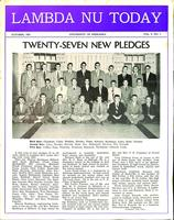 1951 October Newsletter Lambda Nu (University of Nebraska)