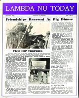 1952 December Newsletter Lambda Nu (University of Nebraska)