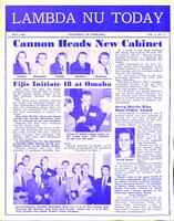 1952 May Newsletter Lambda Nu (University of Nebraska)