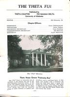 1950 Spring Newsletter Theta (University of Alabama)