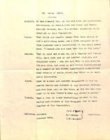 1858 Death Resolution for Rev. Thomas B. Wilson (Jefferson College 1849)