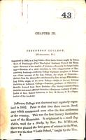 1802 - History of Jefferson College