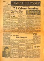 1955 November Newsletter Lambda Nu (University of Nebraska)
