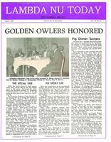 1958 April Newsletter Lambda Nu (University of Nebraska)