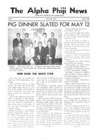 1956 April Newsletter Alpha Phi (University of Michigan)