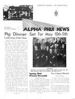 1958 April Newsletter Alpha Phi (University of Michigan)