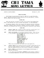 1960 February Newsletter Chi (Union College)