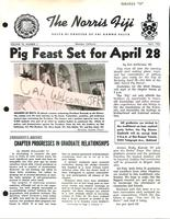 1962 April Newsletter Delta Xi (University of California Berkeley)
