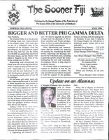 1996 Fall Newsletter Nu Omega (University of Oklahoma)