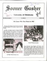 1983 Spring Newsletter Nu Omega (University of Oklahoma)