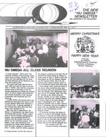1985 November-December Newsletter Nu Omega (University of Oklahoma)