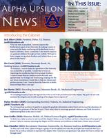2019 Fall Newsletter Alpha Upsilon (Auburn University)