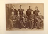 1866 Group Picture of Washington & Jefferson Brothers