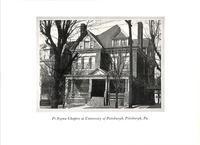 1927 Chapter House at Pi Sigma at University of Pittsburgh