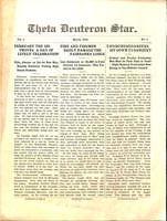1911 March Newsletter Theta Deuteron (Ohio Wesleyan University)