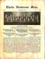 1911 Spring Newsletter Theta Deuteron (Ohio Wesleyan University)