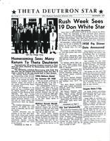 1957 December Newsletter Theta Deuteron (Ohio Wesleyan University)