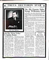 1961 May Newsletter Theta Deuteron (Ohio Wesleyan University)