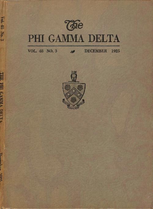 Phi Gamma Delta Magazine